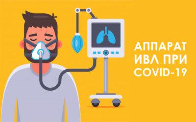 Аппарат ИВЛ при коронавирусе: как он работает